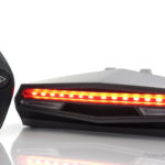 Bicycle BIke LED Tail Warning Light Remote Control Signal Lamp