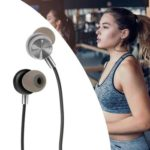 Magnetic Attraction Bluetooth 4.2 Sports Earphones Headsets (Silver)