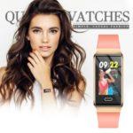 X9 Smart Band Heart Rate Sleep Pedometer IP67 Waterproof Bracelet (Pink)