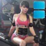 60pcs Massage Fat Burning Fitness Training Gel Abdominal Muscle Accessory