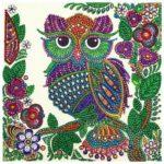 5D DIY Special Shaped Diamond Painting Birds Cross Stitch Mosaic Craft Kits
