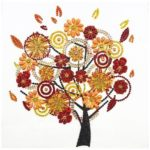 5D DIY Special Shaped Diamond Painting Tree Cross Stitch Mosaic Craft Kits
