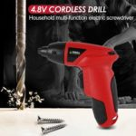 4.8V Cordless Electric Screwdriver Household Multi-use Charging Drill​ (EU)