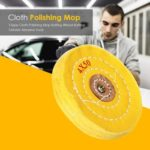 T-type Cloth Polishing Mop Buffing Wheel Grinder Abrasive Tools (5 inch)