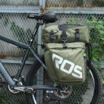 Roswheel Bicycle Rack Bag Waterproof 3 in 1 Cycling Pack Pannier (Green)