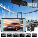 SE016 1080p Car DVR Dual Lens 4 inch Screen Night Vision Dashboard Camera