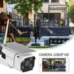 Wireless Security Camera WiFi 1080P Dual Light Source IP Solar CCTV Camera