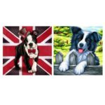 5D DIY Full Drill Diamond Painting Cross Stitch Embroidery Kit (Dog02)