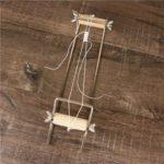 DIY Metal Weaving Knitting Beading Loom Kit Bracelets Jewelry Make Machine