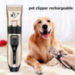 Electric Pet Hair Clipper Dog Hair Trimmer Cutter Shaver Beauty Scissors