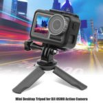 Mini Desktop Tripod Selfie Stick Holder Mount for DJI OSMO Action Camera