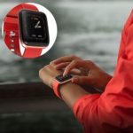 W5 Smart Bracelet Heart Rate Blood Pressure Waterproof IP67 Watch (Red)