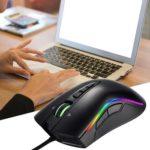 GAMEDIAS M8 Mamba 7 Keys USB Wired 4000 DPI Adjustable RGB Gaming Mouse
