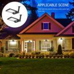 36LED Solar Motion Sensor Wall Lamp Outdoor Waterproof Courtyard Light