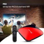 X88 PRO 4+32GB Android 9.0 RK3318 2.4G/5G Wifi 4K HD TV Set Top Box (AU)