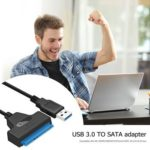 USB3.0 To SATA Adapter Converter Cable for 2.5 inch SSD HDD Hard Disk Drive