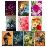 5D DIY Full Drill Diamond Painting Cross Stitch Embroidery Kit (Animal10)