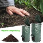 Organic Waste Kitchen Fruit Planter Vegetable Grow Compost Bag  (45x80cm)