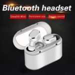 TWS18 Wireless Sports Bluetooth 5.0 Earset Binaural Handsfree Headset (B)
