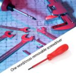 Slotted//Straight Insulated Screwdriver Manual Repair Screw Driver (5pcs)