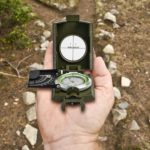 Portable Luminous Compass Outdoor Camping Survival Geological Dashboard