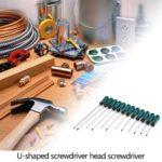 Cross/Straight Insulated Screw Driver Manual Repair Screwdriver (12pcs)