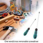 8pcs Cross/Straight Screw Driver Insulated Manual Screwdriver Repair Tool