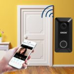 EKEN V6 720P Smart Wireless Cam Video Home Night Vision Doorbell (Black)