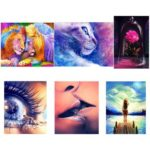 5D DIY Full Drill Diamond Painting Cross Stitch Embroidery Kits (Beauty06)