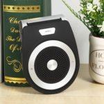 Bluetooth Handsfree Car Kit MP3 Player Sun Visor Clip Speakerphone (Black)