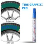 Waterproof Car Tire Tread Permanent Paint Marker Pen Graffiti Pen (Blue)