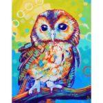 5D DIY Full Drill Diamond Painting Animal Cross Stitch Embroidery Craft Kit