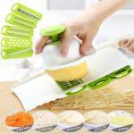 Vegetable Cutter Slicer Fruit Potato Carrot Grater Peeler Kitchen Gadget