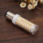BA15D 9W LED Light Bulb Ceramic Corn Bulb Lamp for Home Lighting Decor (WW)