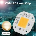 COB LED Lamp Chip AC 220V LED Bulb Flood Light Chip 20W DIY Floodlight (C)