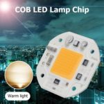 COB LED Lamp Chip AC 220V LED Bulb Flood Light Chip 30W DIY Floodlight (C)