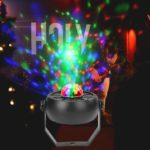 5LED Colorful Rotating Stage Light Crystal Magic Ball KTV DJ Par Lamp (EU)