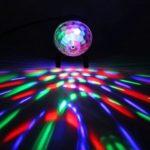 LED Stage Light Crystal Magic Ball KTV Bar Club Party DJ Effect Lamp (EU)