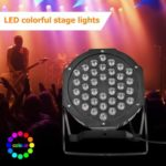 36LED RGB Stage Light Projector KTV Bar Club Party DJ Disco Par Lamp (EU)