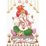 5D DIY Special Shaped Diamond Painting Elephant Trunk Buddha Embroidery Kit