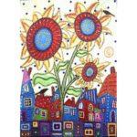 5D DIY Special Shaped Diamond Painting Sunflower Cross Stitch Mosaic Kits