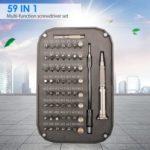 59 in 1 Multi-function Screwdriver Set Mobile Phone Notebook Repair Tools