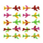 50pcs Mini Assembled Plastic Aircraft Model Educational Toys Kids Gift