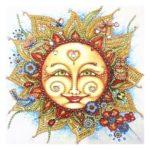 5D DIY Special Shaped Diamond Painting Sun Cross Stitch Mosaic Craft Kits