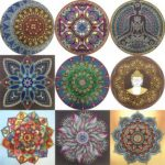 5D DIY Special Shaped Diamond Painting Mandala Embroidery Craft Kit (r8363)