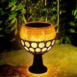 96LED Solar Lawn Light Outdoor Waterproof Garden Yard Street Security Lamp