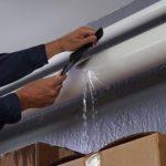 Strong Fiber Waterproof Adhesive Tape Stop Leaks Seal Repair Tape (Black)