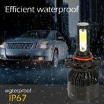 Auto Car LED Headlight Truck Bulb S2 Silver Headlamp Aluminium Alloy (5202)
