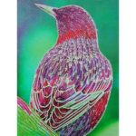 5D DIY Special-shaped Diamond Painting Bird Cross Stitch Embroidery Kit