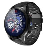 LEMFO LEF3 LTE 4G Heart Rate GPS Android 7.1 2MP Cam Smart Watch (Black)